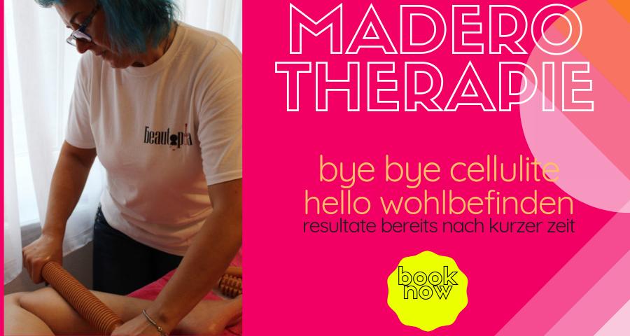 Maderotherapie gegen Cellulite